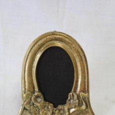 Antigüedades: ESPEJO DE SOBREMESA ART DÉCO EN BRONCE. Lote 57354387