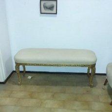 Antigüedades: BANQUETA MADERA . Lote 57359867