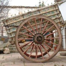Antigüedades: IMPORTANTE CARRO DE BUEYES. Lote 57371554