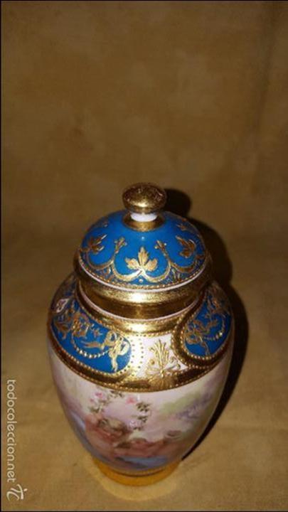 Antigüedades: Tibor de porcelana - Foto 2 - 152565190