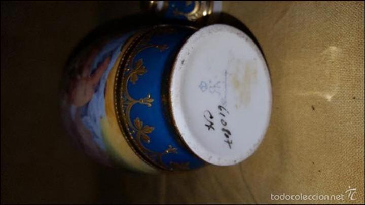 Antigüedades: Tibor de porcelana - Foto 3 - 152565190