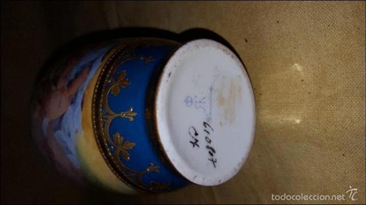 Antigüedades: Tibor de porcelana - Foto 9 - 152565190