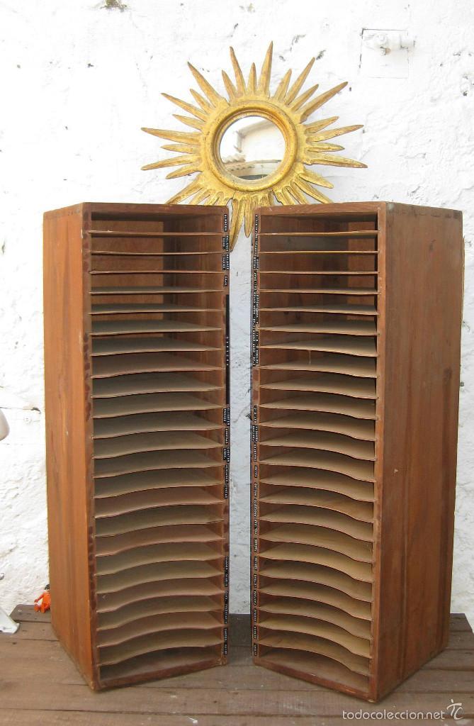 2 muebles madera mueble antiguo vintage de tien comprar for Muebles auxiliares clasicos madera