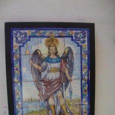 Antigüedades: RETABLO CERAMICO AZULEJOS SAN RAFAEL (CORDOBA). Lote 44722931