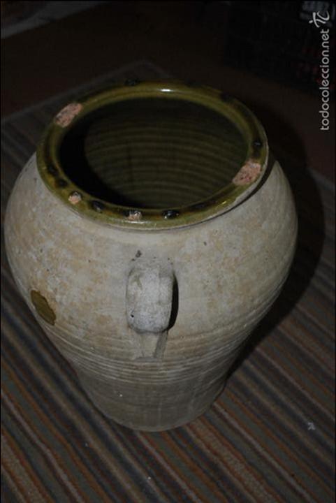 Antigüedades: Vasija de barro blanco...VER VIDEO!!! - Foto 3 - 57398234