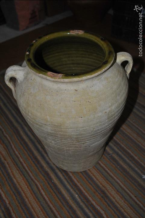 Antigüedades: Vasija de barro blanco...VER VIDEO!!! - Foto 4 - 57398234