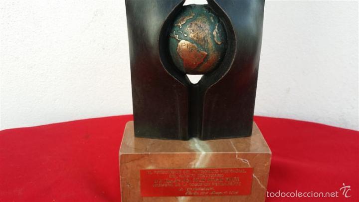 Antigüedades: trofeo bronce - Foto 2 - 57404864