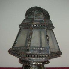 Antigüedades: FAROL DE PEANA PROCESIONAL, SIGLO XIX. Lote 57408231