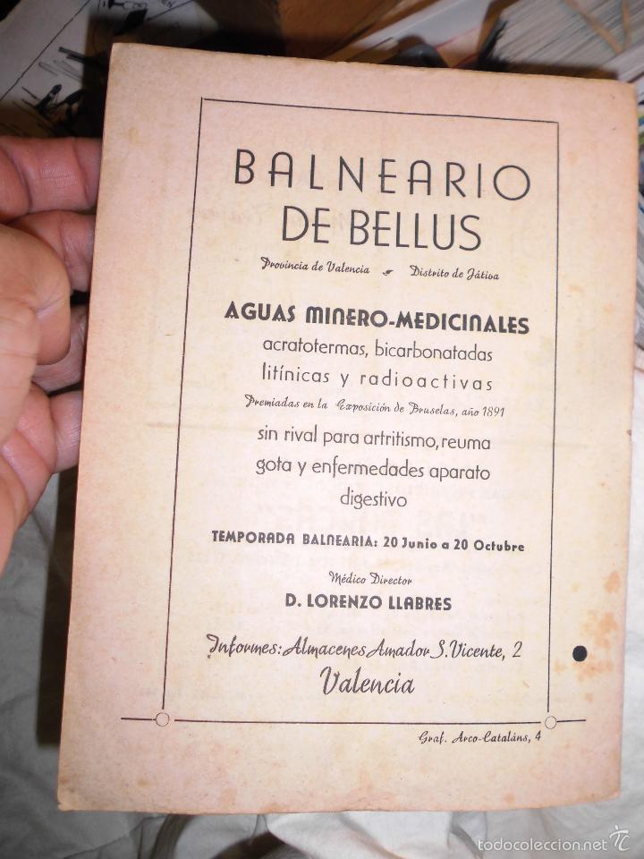 Antigüedades: LLIBRET DE FALLA SORNI CONDE DE SALVATIERRA DE 1945 - Foto 2 - 29095607