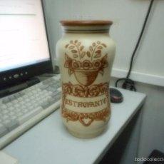 Antigüedades: GRAN ALBARELO TARRO FARMACIA PORCELANA TALAVERA. Lote 57412819