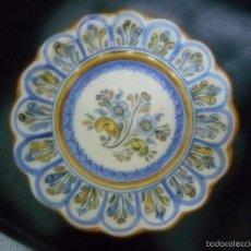 Antiquités: PLATO PORCELANA TALAVERA. Lote 57413504