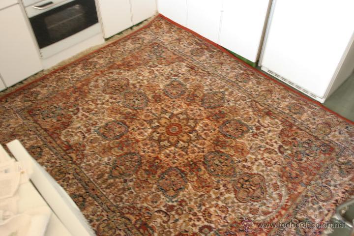 Alfombra espa ola en lana comprar alfombras antiguas en - Alfombras de lana a medida ...