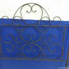 Antigüedades: CABEZAL DE FORJA. PARA CAMA DE 80.. Lote 57417329