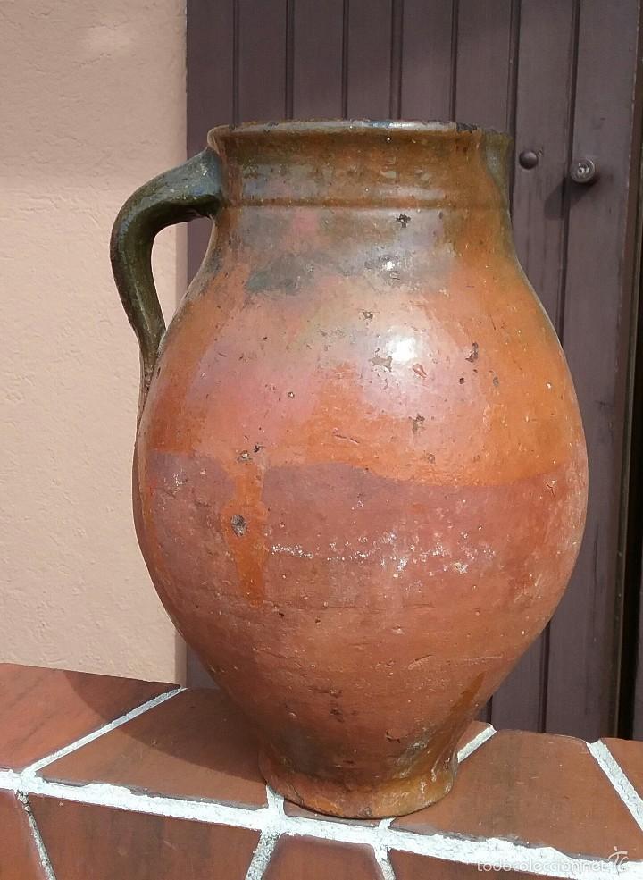 ALFARERIA ANTIGUA JARRA DE CUENCA. (Antigüedades - Porcelanas y Cerámicas - Otras)