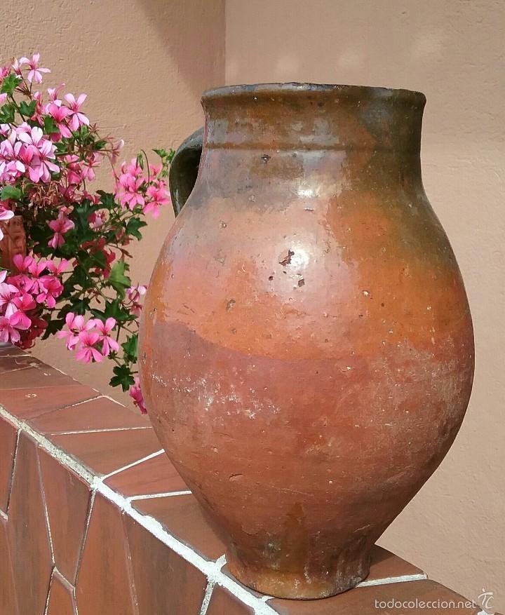 Antigüedades: Alfareria Antigua jarra de Cuenca. - Foto 2 - 57430145