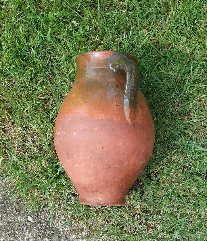 Antigüedades: Alfareria Antigua jarra de Cuenca. - Foto 3 - 57430145