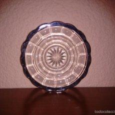 Antigüedades: 6 PLATOS ANTIGUOS RIBETE PLATA DE LEY. Lote 57433115
