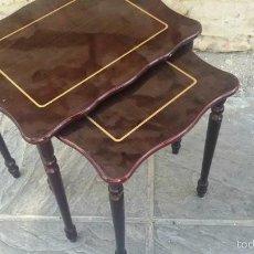 Antigüedades: MESITAS CONJUNTO. Lote 57434968