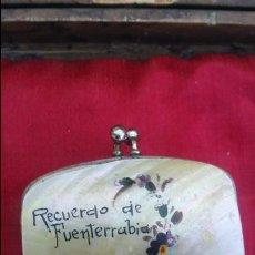Antigüedades: PRECIOSO MONEDERO DE NÁCAR DE LOS AÑOS 30.. Lote 57440829