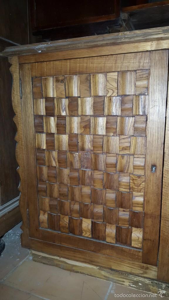 Antigüedades: Aparador provenzal en madera de roble para restaurar. - Foto 2 - 57442003