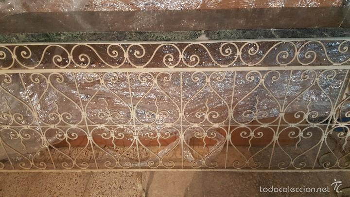 Antigüedades: MESA FORJA MARMOL - Foto 3 - 171254167