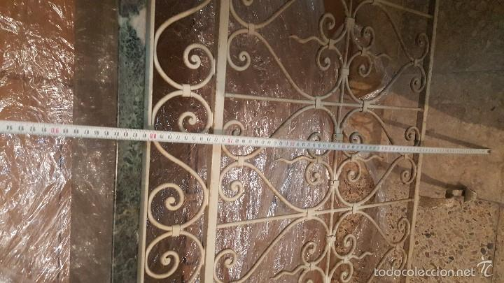 Antigüedades: MESA FORJA MARMOL - Foto 8 - 171254167