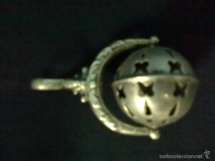 SONAJERO PLATA (Antigüedades - Platería - Plata de Ley Antigua)