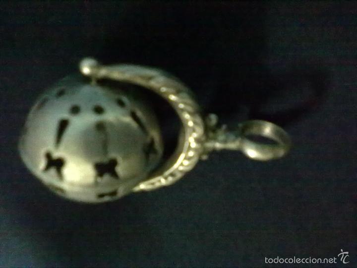 Antigüedades: SONAJERO PLATA - Foto 2 - 57464381
