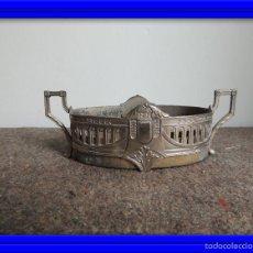 Antigüedades: JARDINERA MODERNISTA METAL PLATEADO ANTIGUA. Lote 57477225