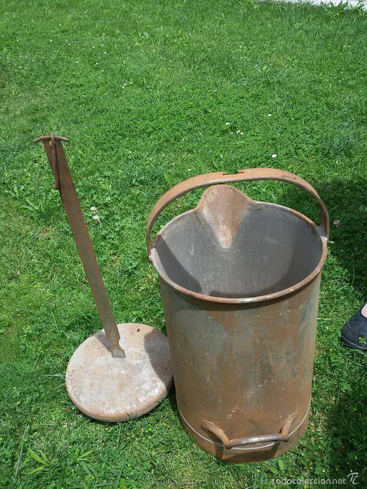 Antigüedades: Medidor de grano - Foto 2 - 57479330