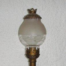 Antigüedades: ANTIGUO QUINQUE EXTENSIBLE. S.XIX. ADAPATADO A LA LUZ ELECTRICA.. Lote 57487425