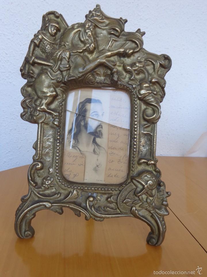 marco de bronce con la representacion de san j - Comprar Marcos ...
