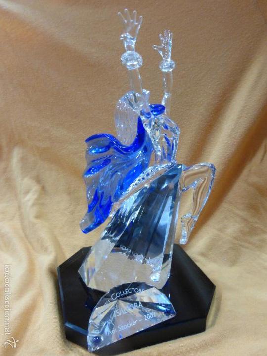 Antigüedades: Figura cristal Swarovski Isadora-bailarina-colección Magia de la danza serie anual-en caja original - Foto 2 - 57517209
