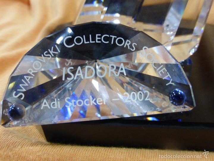 Antigüedades: Figura cristal Swarovski Isadora-bailarina-colección Magia de la danza serie anual-en caja original - Foto 4 - 57517209