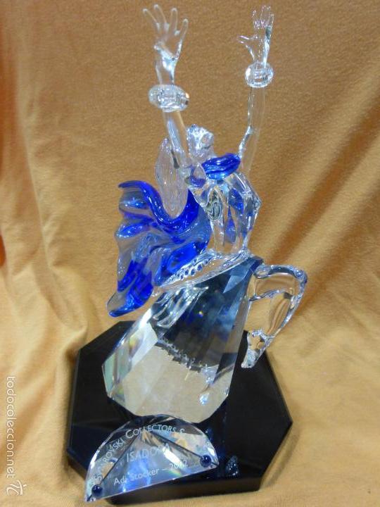 Antigüedades: Figura cristal Swarovski Isadora-bailarina-colección Magia de la danza serie anual-en caja original - Foto 6 - 57517209