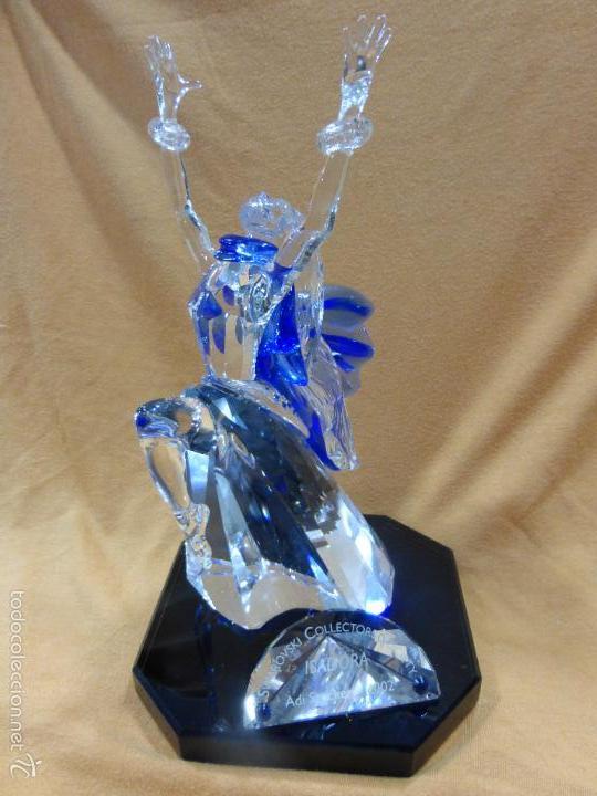 Antigüedades: Figura cristal Swarovski Isadora-bailarina-colección Magia de la danza serie anual-en caja original - Foto 8 - 57517209