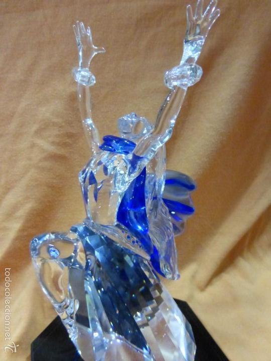 Antigüedades: Figura cristal Swarovski Isadora-bailarina-colección Magia de la danza serie anual-en caja original - Foto 11 - 57517209