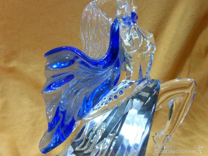 Antigüedades: Figura cristal Swarovski Isadora-bailarina-colección Magia de la danza serie anual-en caja original - Foto 13 - 57517209