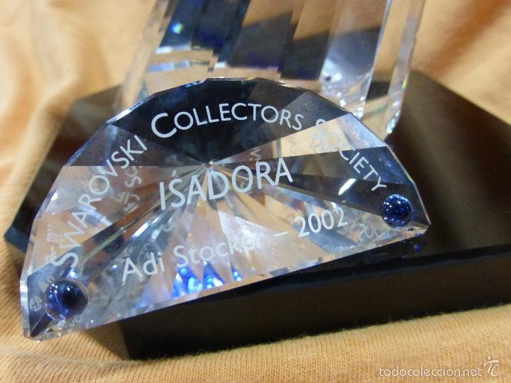 Antigüedades: Figura cristal Swarovski Isadora-bailarina-colección Magia de la danza serie anual-en caja original - Foto 20 - 57517209