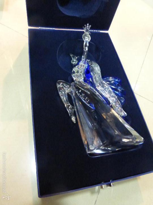 Antigüedades: Figura cristal Swarovski Isadora-bailarina-colección Magia de la danza serie anual-en caja original - Foto 21 - 57517209