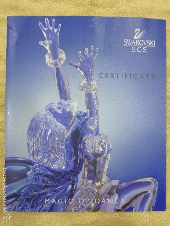 Antigüedades: Figura cristal Swarovski Isadora-bailarina-colección Magia de la danza serie anual-en caja original - Foto 26 - 57517209