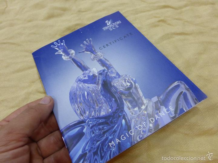 Antigüedades: Figura cristal Swarovski Isadora-bailarina-colección Magia de la danza serie anual-en caja original - Foto 28 - 57517209