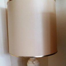 Antigüedades: LAMPARA DE ALABASTRO. Lote 57519604