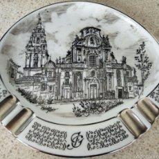 Antigüedades: CENICERO, CATEDRAL DE MURCIA, PINTADO A MANO, PARA JOSE GARRIDO. Lote 57523975
