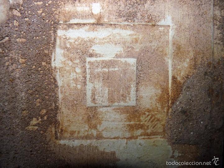 Antigüedades: LOTE DE 3 AZULEJOS MODERNISTAS CUERDA SECA 15x15/7,5x7,5 cm. MANISES VALENCIA AÑOS 20 - Foto 4 - 57535176