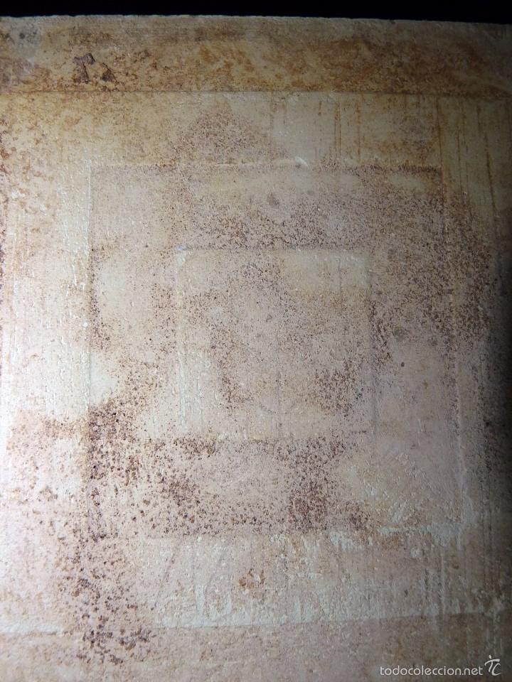 Antigüedades: LOTE DE 3 AZULEJOS MODERNISTAS CUERDA SECA 15x15/7,5x7,5 cm. MANISES VALENCIA AÑOS 20 - Foto 6 - 57535176