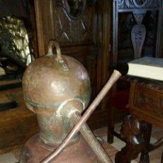 Antigüedades: ALAMBIQUE DE COBRE. Lote 50003883