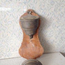 Antigüedades: ANTIGUO AGUAMANIL O FUENTE LAVAMANOS PARA RESTAURAR. EN COBRE. Lote 57556596