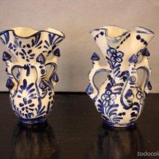 Antigüedades: 2 JARRAS DE CERÁMICA DE ANDÚJAR. Lote 57558395
