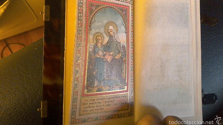 Antigüedades: Misal Libro oraciones con tapas en carey finales s.XIX - Foto 6 - 57560736